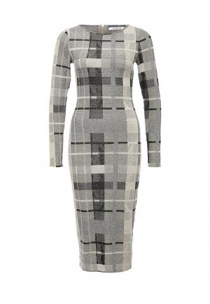 Платье GLAMOROUS. Цвет: серый