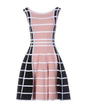 Короткое платье ANTONINO VALENTI. Цвет: розовый