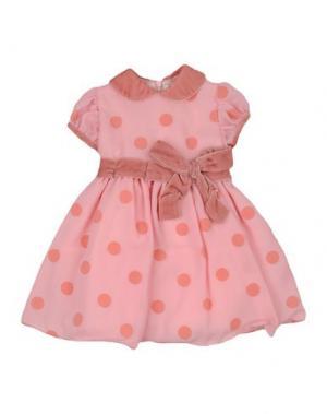 Платье LESY. Цвет: розовый
