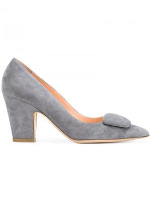 Туфли-лодочки с заостренным носком Rupert Sanderson. Цвет: серый