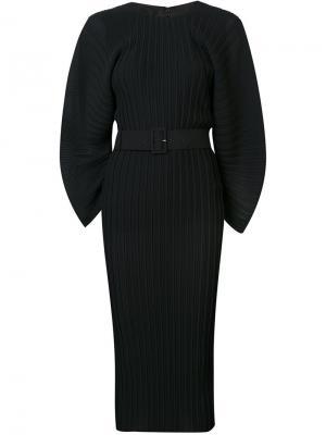 Платье миди Singer Solace. Цвет: чёрный