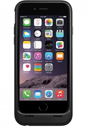 Чехол-аккумулятор Mars для iPhone 6/6s на 3000 mAh Odoyo. Цвет: черный