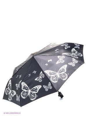 Зонт Flioraj. Цвет: черный, белый