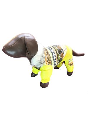 Комбинезон Pet's Fashion. Цвет: желтый