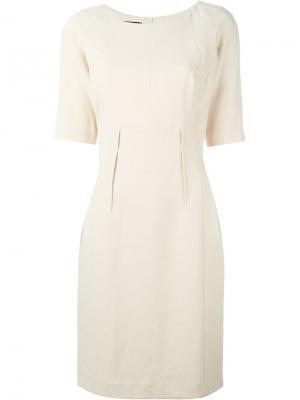 Облегающее платье с рукавами три четверти Stills. Цвет: телесный