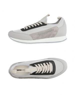 Низкие кеды и кроссовки MOMO DESIGN. Цвет: светло-серый
