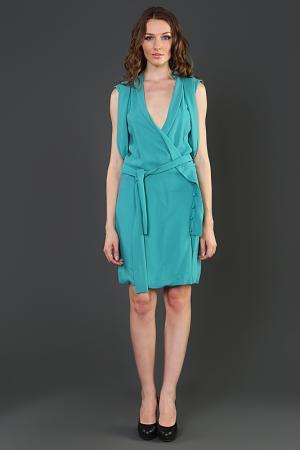 Платье Thakoon. Цвет: голубой