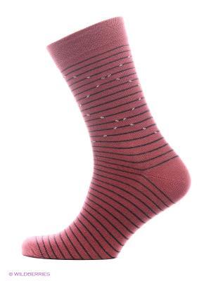 Носки Skinija. Цвет: бордовый