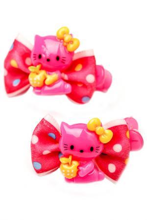 Заколка Biruza Kids. Цвет: розовый