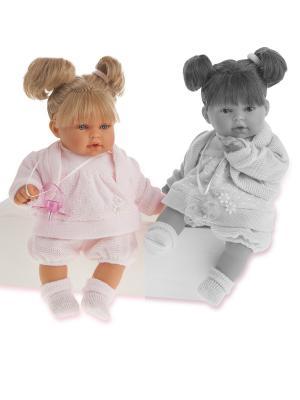 Кукла Лана, плачущая, 27 см. Antonio Juan. Цвет: бледно-розовый