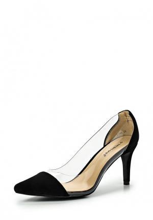 Туфли Stephan. Цвет: черный