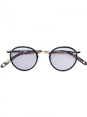 Солнцезащитные очки  x WANT Les Essentiels Garrett Leight. Цвет: коричневый