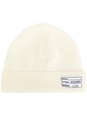 Трикотажная шапка Lc23. Цвет: белый
