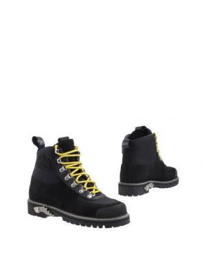Полусапоги и высокие ботинки OFF WHITE c/o VIRGIL ABLOH. Цвет: черный