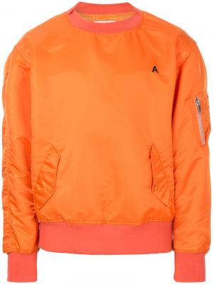 Пуловер MA-1 Ambush. Цвет: жёлтый и оранжевый
