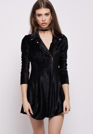 Платье iSwag. Цвет: черный