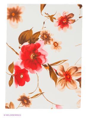 Обложка для автодокументов Акварель Mitya Veselkov. Цвет: белый, коричневый, красный