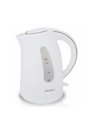 Чайник Supra KES-1721 белый 1.7л. 2200Вт (пластик). Цвет: белый