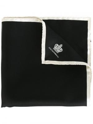 Платок паше с принтом Dolce & Gabbana. Цвет: чёрный