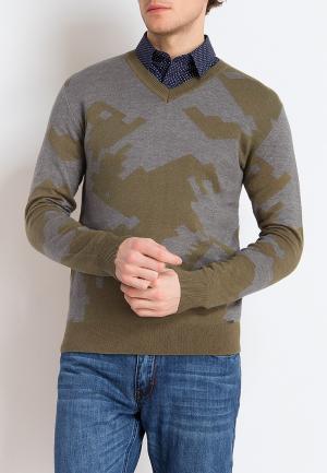 Пуловер Finn Flare. Цвет: разноцветный