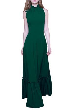 Платье MARICHUELL. Цвет: насыщенно-зеленый
