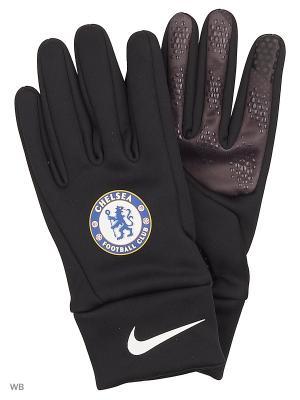 Перчатки CFC NK STADIUM GLV Nike. Цвет: антрацитовый, синий