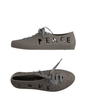 Обувь на шнурках F-TROUPE. Цвет: серый