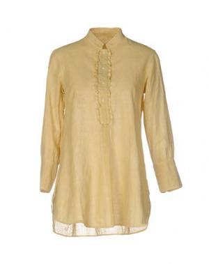Блузка DOSA. Цвет: бежевый