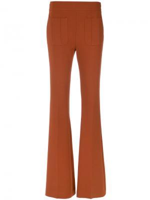 Flared trousers Nk. Цвет: коричневый