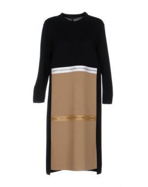 Платье до колена NEERA. Цвет: черный