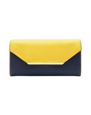 Бумажник LANCEL. Цвет: желтый