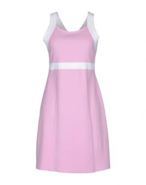 Короткое платье BASE. Цвет: розовый