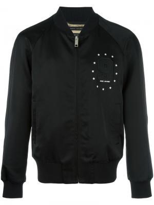 Куртка с вышитой девяткой Marc Jacobs. Цвет: чёрный