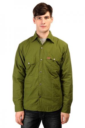 Куртка  Gear Snap Jack Green Trew. Цвет: зеленый