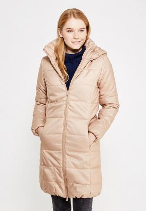 Куртка утепленная Modis. Цвет: коричневый