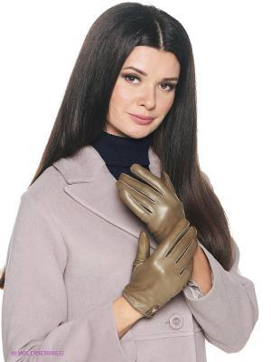 Перчатки женские Piero. Цвет: коричневый