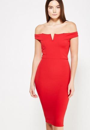 Платье Edge Street. Цвет: красный
