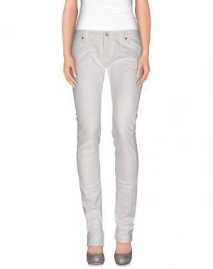 Повседневные брюки NOLITA DE NIMES. Цвет: слоновая кость