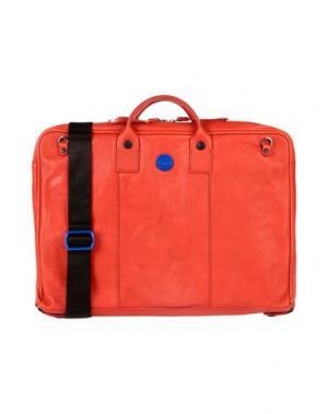 Деловые сумки GABS. Цвет: красный