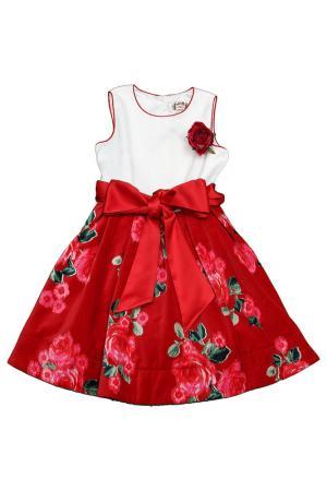 Платье il MIO tutto. Цвет: красный