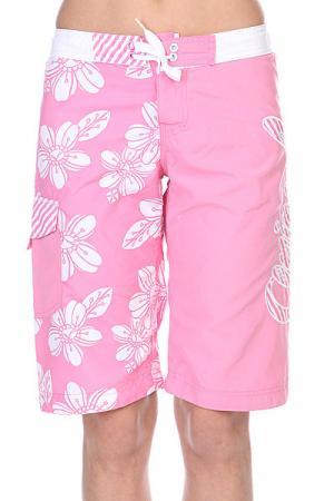 Шорты пляжные детские  Floella Pink Animal. Цвет: розовый