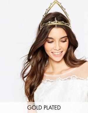 Mordekai Корона для волос. Цвет: золотой