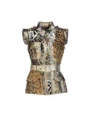 Пиджак AQUILANO-RIMONDI. Цвет: хаки