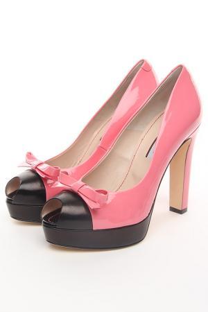 Туфли Guglielmo Rotta. Цвет: розовый