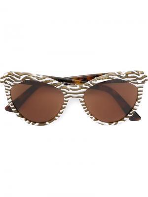 Солнцезащитные очки Erzulie Zanzan. Цвет: многоцветный
