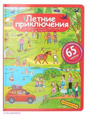 Рассказы по картинкам с наклейками. Летние приключения АЙРИС-пресс. Цвет: зеленый, красный
