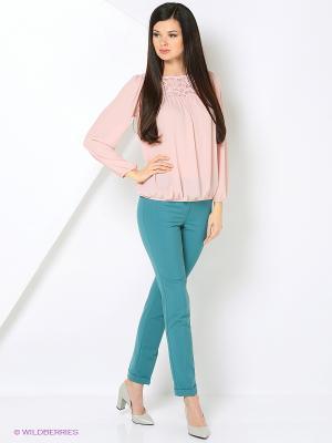 Блузка La Via Estelar. Цвет: розовый