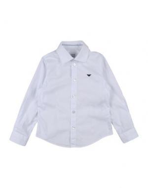 Pубашка ARMANI JUNIOR. Цвет: белый