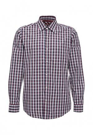 Рубашка Karflorens. Цвет: бордовый