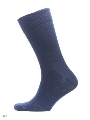 Носки мужские, 3 пары JOHN FRANK. Цвет: серый, синий, красный